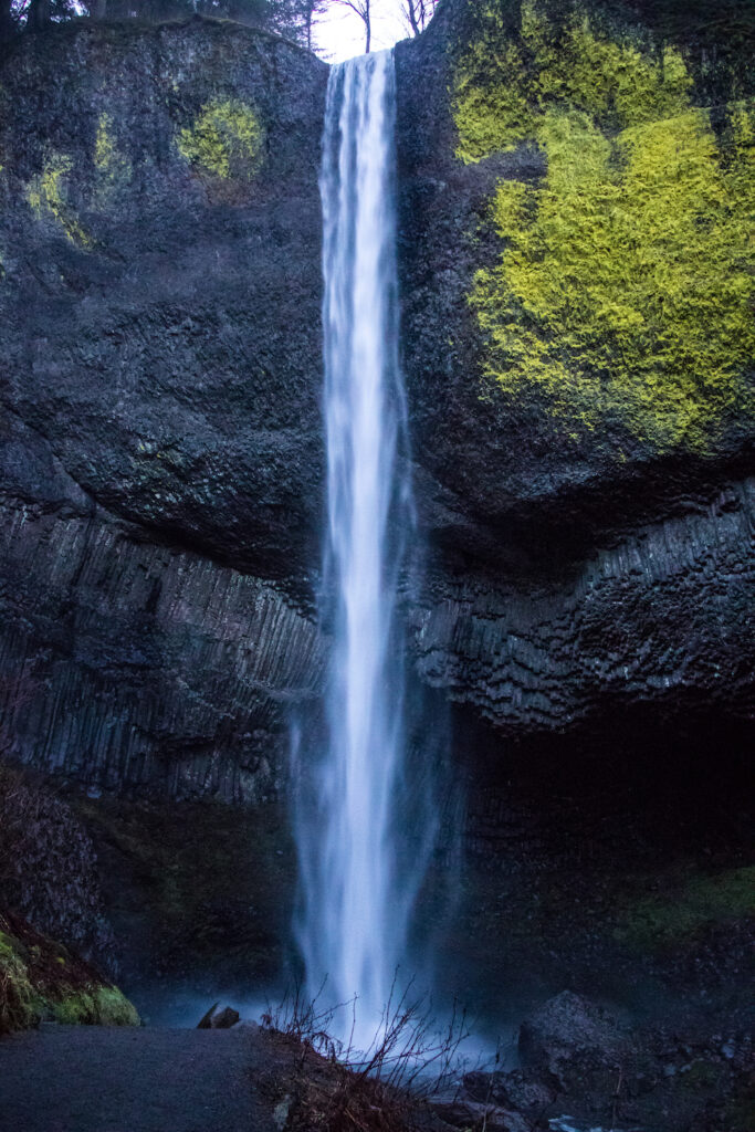 Latourell Falls in Oregon
