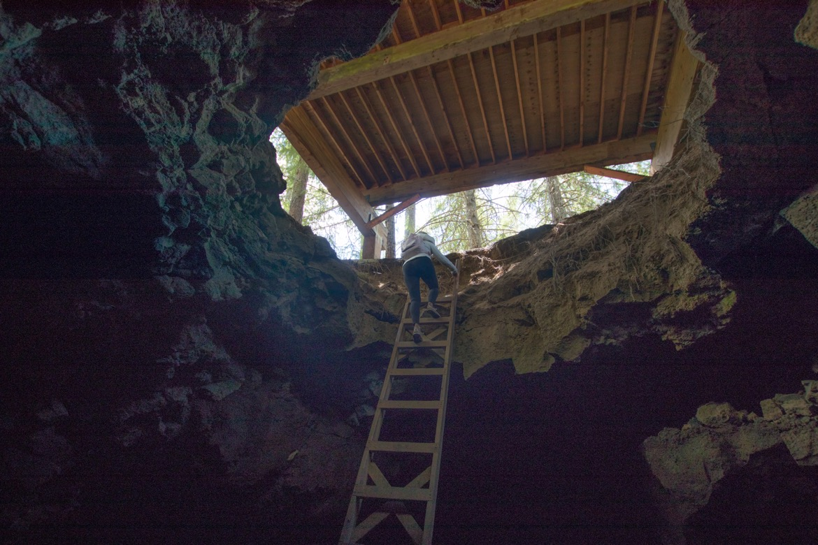 Cheese Cave in Trout Lake, Washington