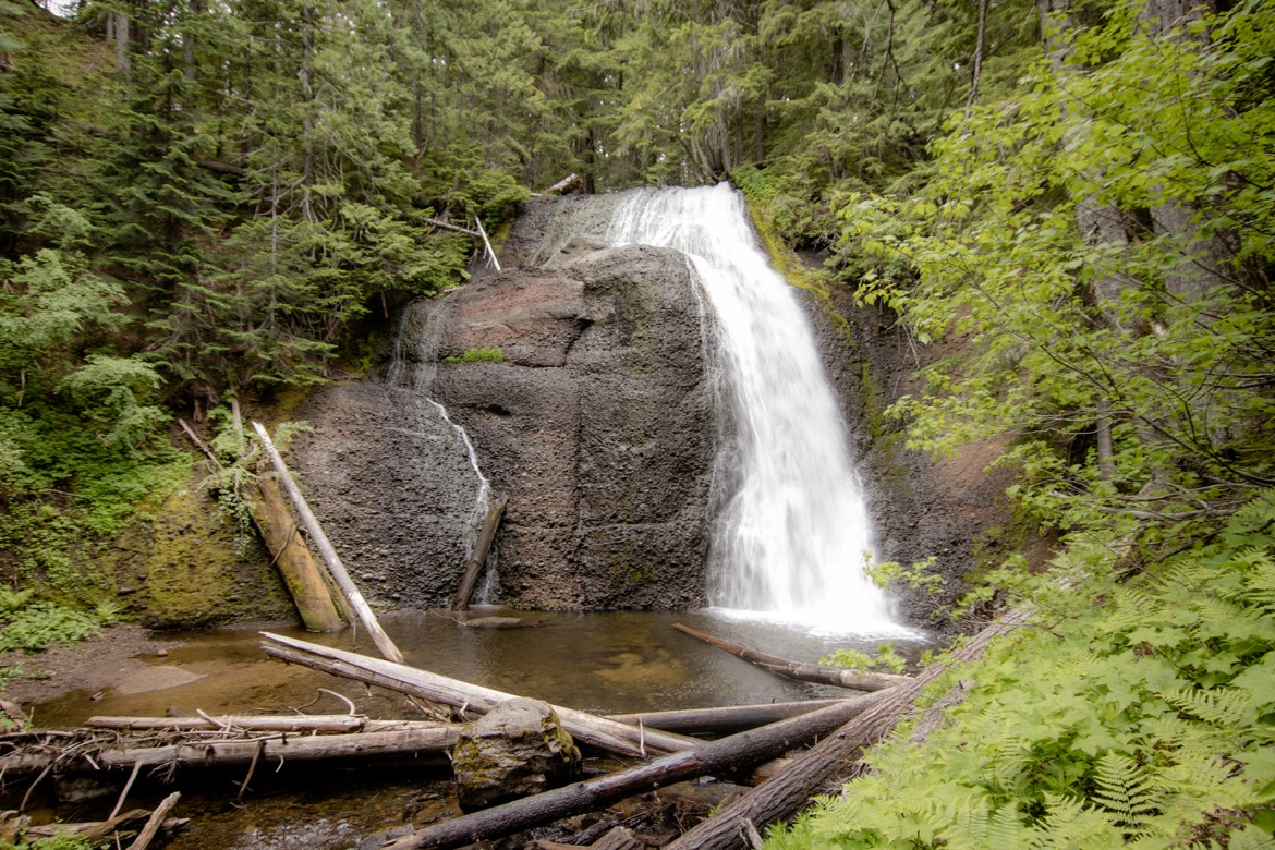 Langfield Falls near Trout Lake WA