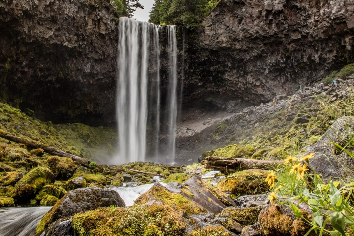 Tamanawas Falls in Oregon