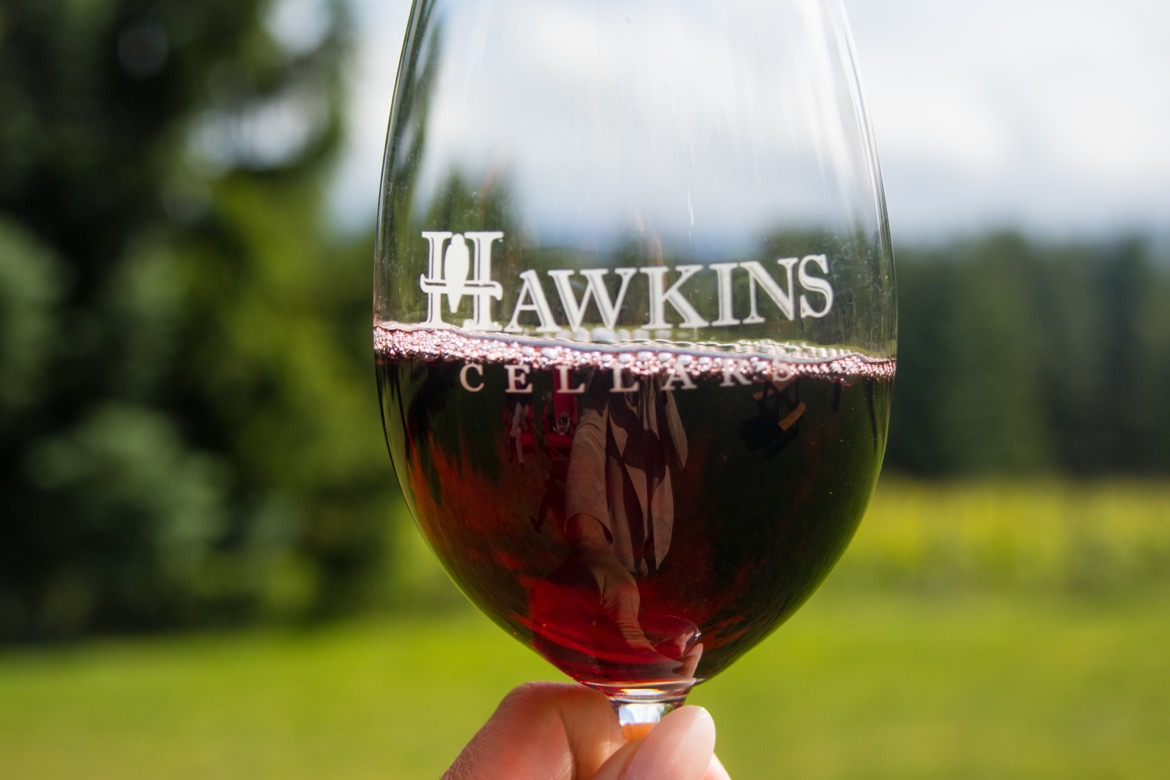 Hawkins Cellars in Underwood, Washington