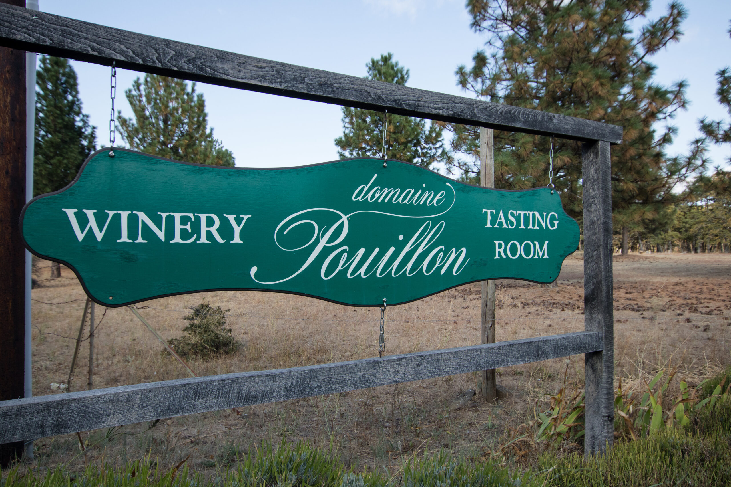 Domaine Puillon winery in Lyle, Washington