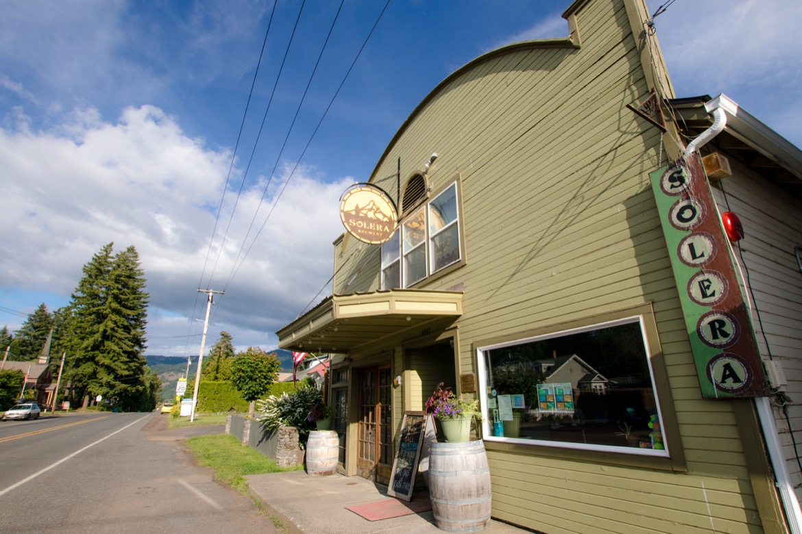 Solera Brewery in Parkdale Oregon