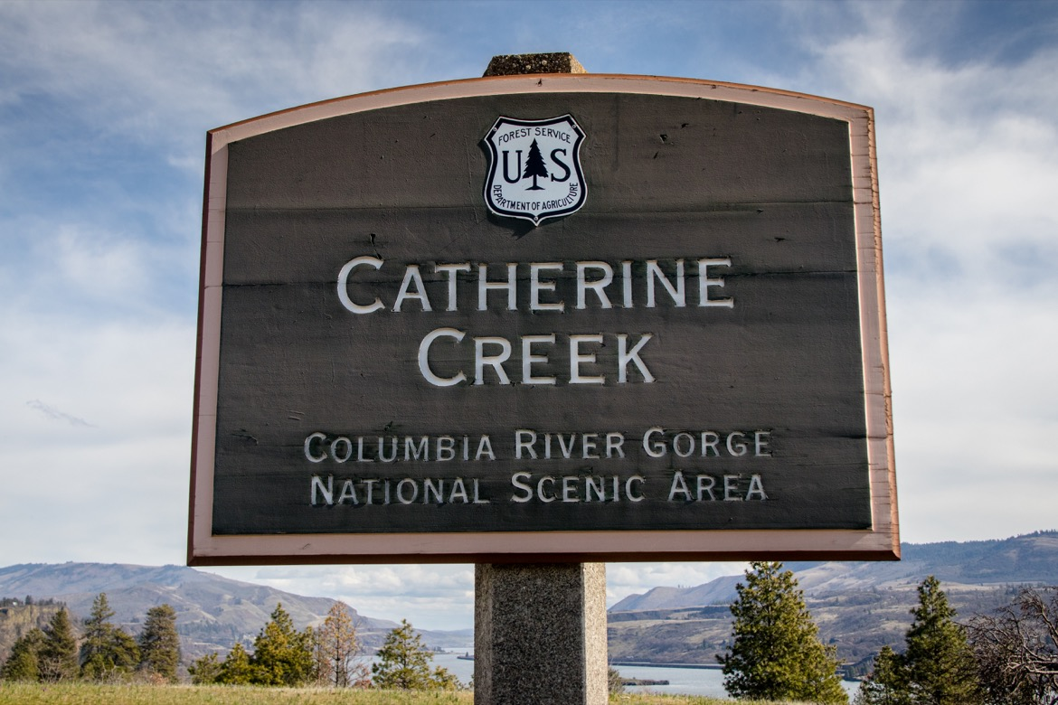 Catherine Creek hike