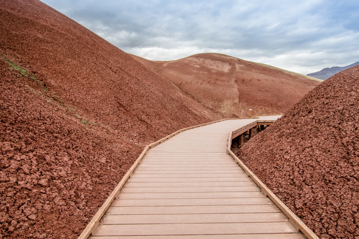 The Painted Hills in Oregon